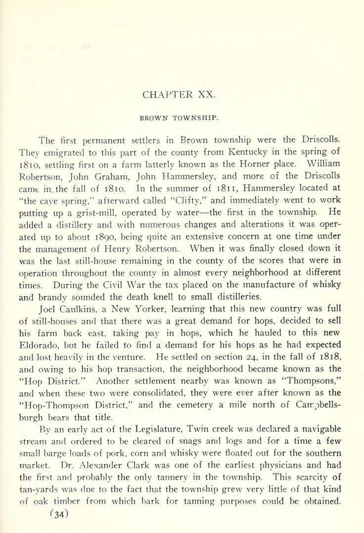Centennial history of Washington County, Indian...