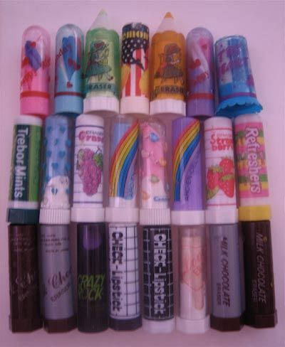 Lipstick erasers by ✎☁Iron Lace☁✎, via Flickr