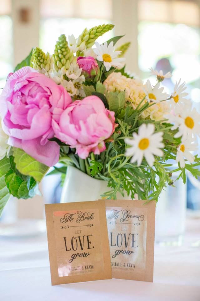 Natalie & Kevin - place cards & flower see favours by Lulu & Bee. Photography by Mint Photography