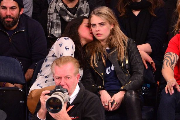 """""""It's official! Cara Delevingne and Michelle Rodriguez ARE dating"""" >>> Not 1D related but I just thought I would share to add some perspective to all those dating rumours you hear."""