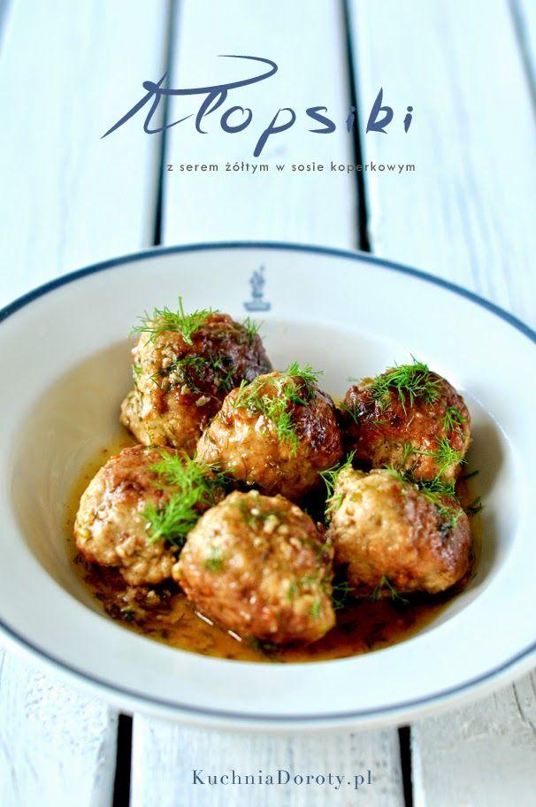 Klopsiki Wieprzowe zSerem Żółtym – pomysły na szybkie dania obiadowe