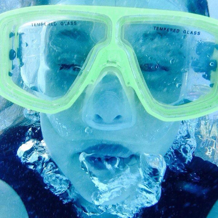 Underwater selfies?? YESS please :)