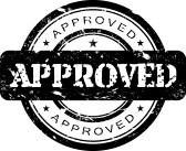 Rubber_stamp : Approved stamp