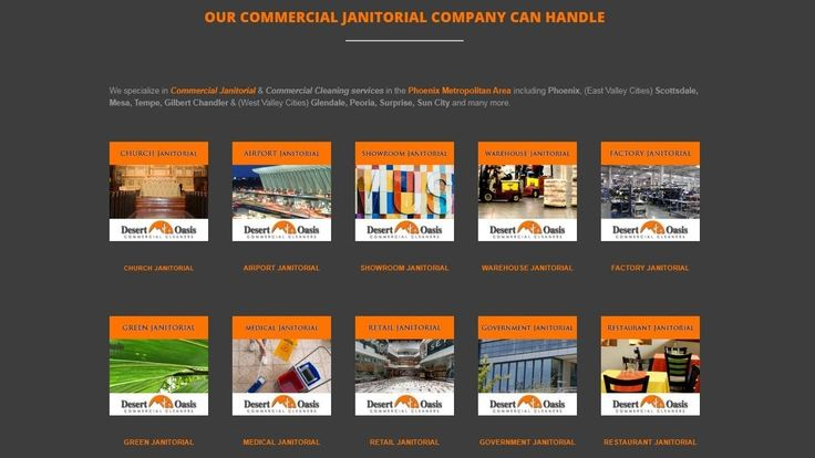 """Janitorial Services Phoenix - Desert Oasis Commercial Cleaners Janitorial Service Phoenix - Desert Oasis Commercial Cleaners  If you are Google searching """"Janitorial Service Phoenix"""" while looking for commercial cleaning companies in Phoenix, Arizona,  Desert Oasis Commercial Cleaners can help! We specialize in commercial office cleaning (http://desertoasiscleaners.com/office-cleaning), carpet cleaning (http://desertoasiscleaners.com/carpet-cleaning), window cleaning"""