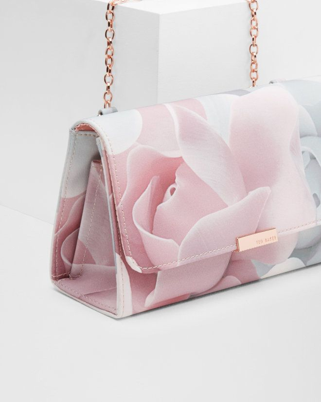 Porcelain Rose evening bag - Nude Pink | Bags | Ted Baker                                                                                                                                                                                 More