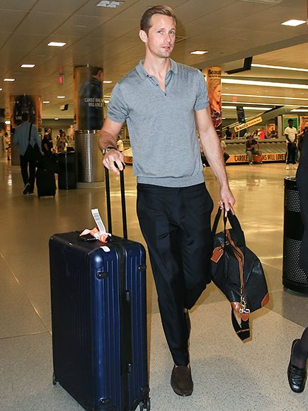 Star Tracks: Thursday, June 30, 2016 | PASSPORT TO NEW YORK | Alexander Skarsgard has landed! The Tarzan actor makes his way through N.Y.C.'s JFK Airport on Thursday.