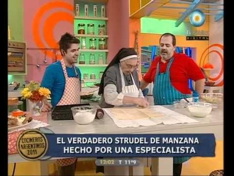 STRUDEL DE MANZANA   Cocineros argentinos estrudel de manzana.
