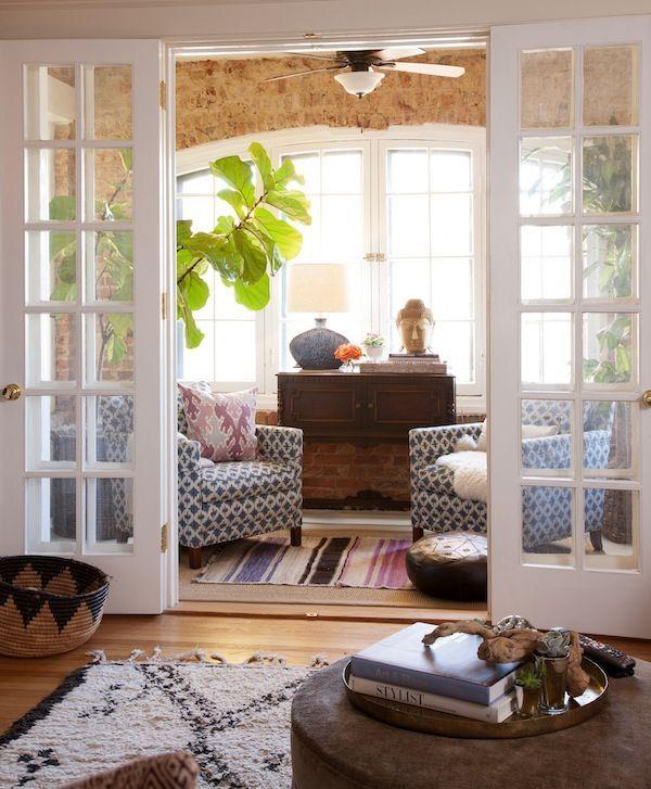 Den Room Decorating Ideas Part - 34: Door Way Into Den/study/playroom Will Let The Light Into The Den Space