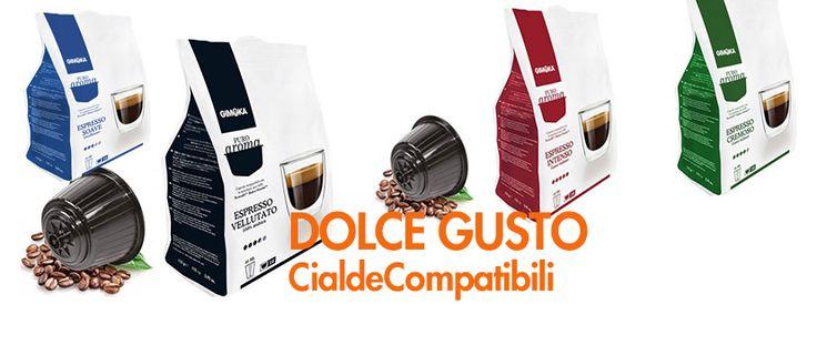 CialdeperCaffè cialde e capsule compatibili Dolce Gusto Puro Aroma gusto Intenso, Cremoso, Vellutato e Soave