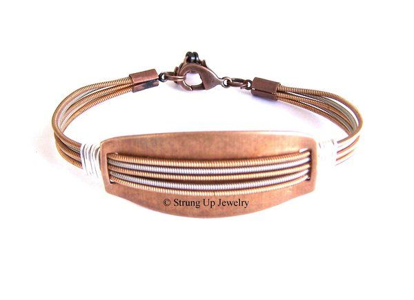 Fashionable bracelets made from guitar strings 69