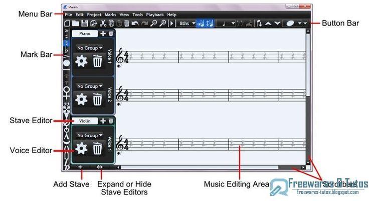 Logiciel composition musique piano gratuit
