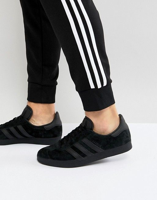 adidas Originals Gazelle Sneakers In Black CQ2809 | Fash