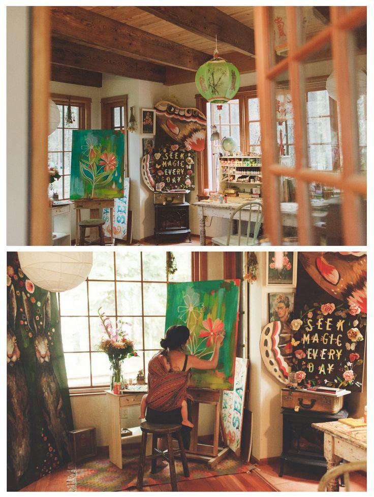 Studio Of Katie Daisy Bend Oregon Art Studios