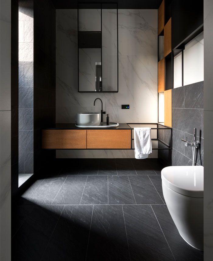 Luxury Ukrainian Villa By Studio Denrakaev Modern Bathroom Trends Bathroom Trends Bathroom Interior Design
