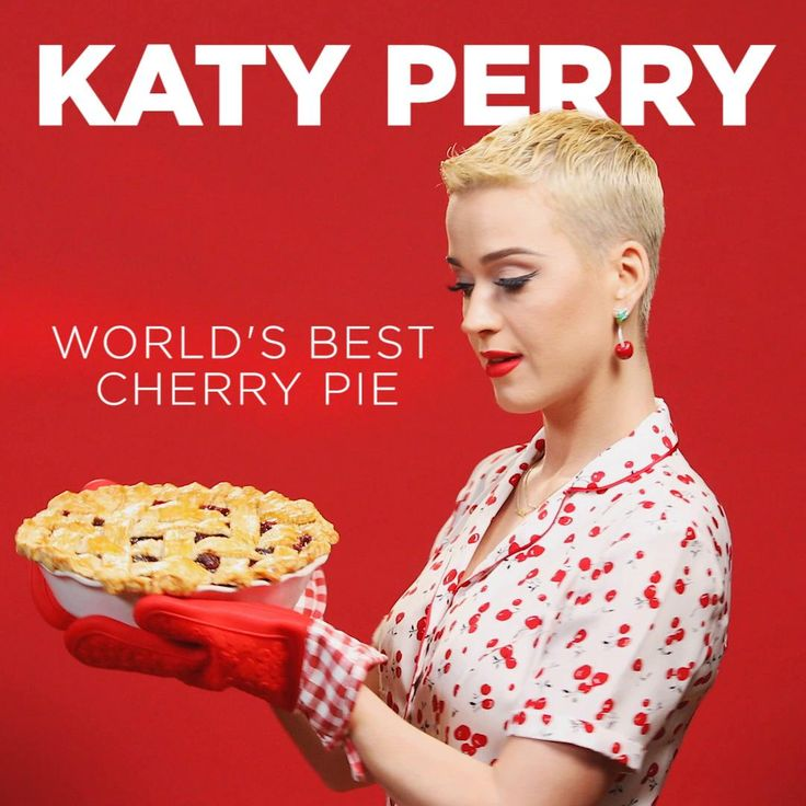"""Katy Perry's Cherry Pie - Featuring Her Song """"Bon Appétit"""""""