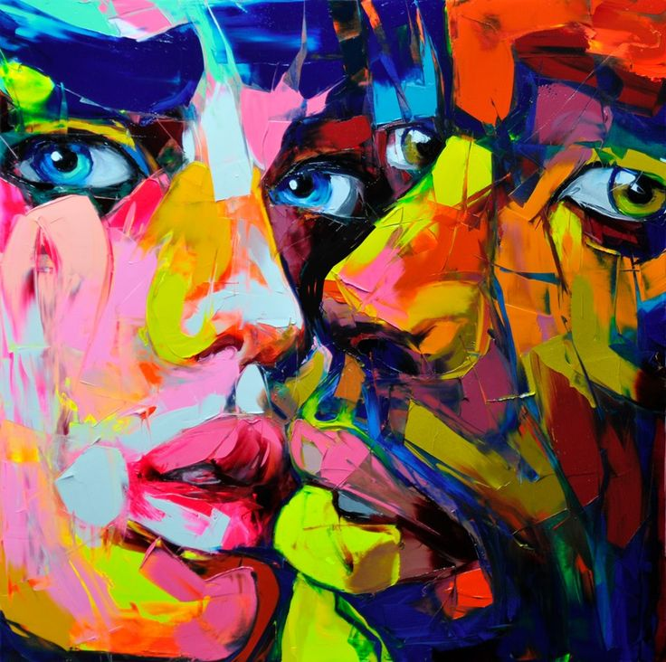 French Painter Who Paints Faces With Palette Knives