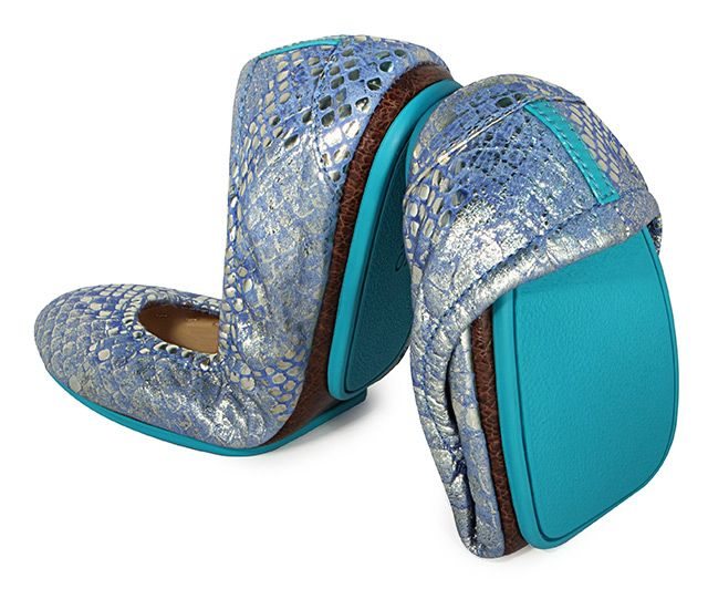 I've been promising myself these shoes for 2 years!   Tieks Paradise Blue