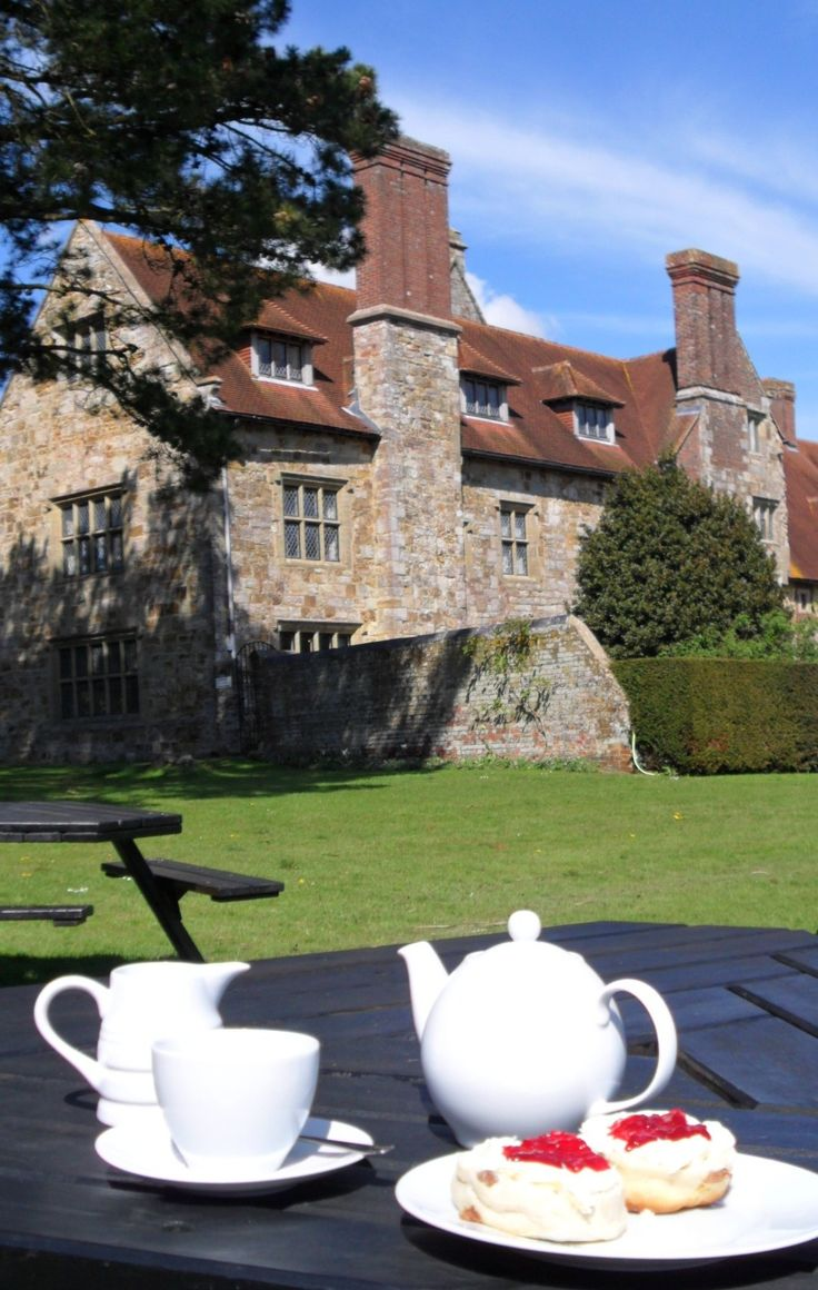 Michelham Priory, East Sussex, England. Founded in 1229.