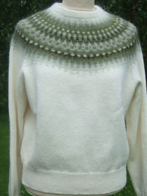 Bohus Jumper - another in my large pile of must-knits!