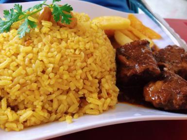 Yellow Rice With Corn - Arroz Amarillo y Maiz: Yellow Rice
