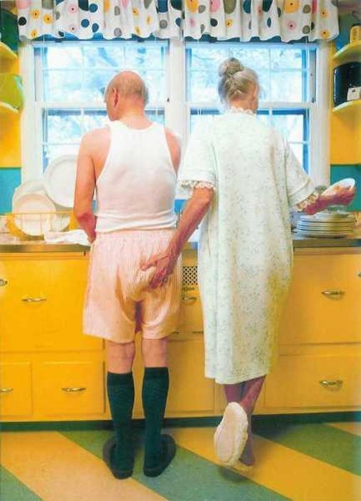 Me and my hubby's in 40 yrs :)