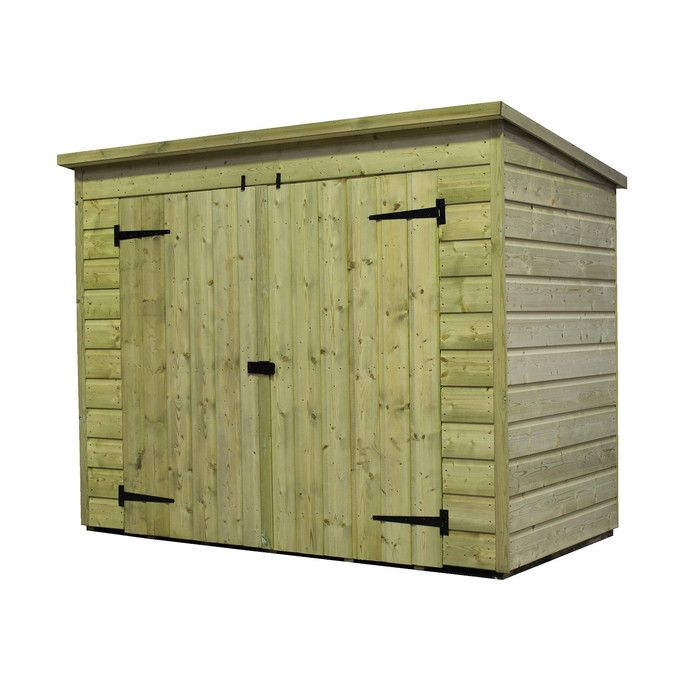 Empire Sheds Ltd 6 x 3 Wooden Lean-To Shed & Reviews | Wayfair UK