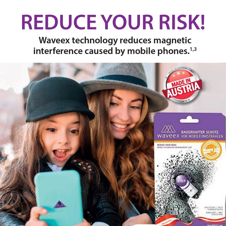 WAVEEX - Reduce Your Risk!  Waveex technology reduces magnetic interference caused by mobile phones, tablets, cordless phones and wireless routers.  www.waveexworld.net