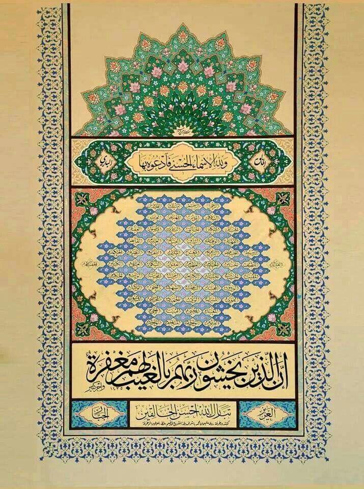 abdullah bulum adlı kullanıcının أسماء الله الحسنى
