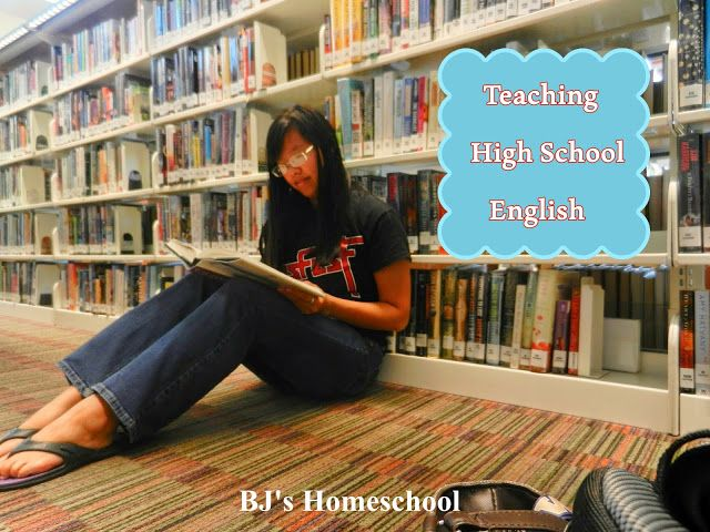 BJ's Homeschool - Our Journey Towards College: Making your own High School English Course