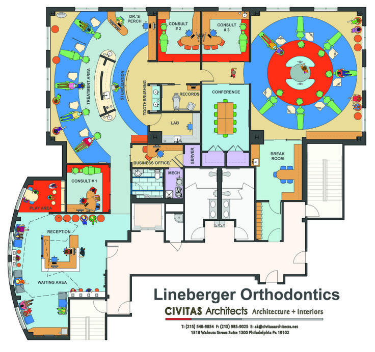 14 Best Orthodontic Office Design Images On Pinterest Design Offices Office Designs And Desk
