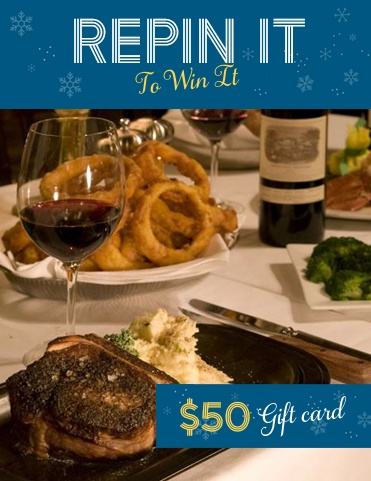 Would you like to win a $50 gift certificate for RingSide Steakhouse?