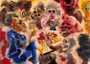 Ghosts (1939), George Grosz
