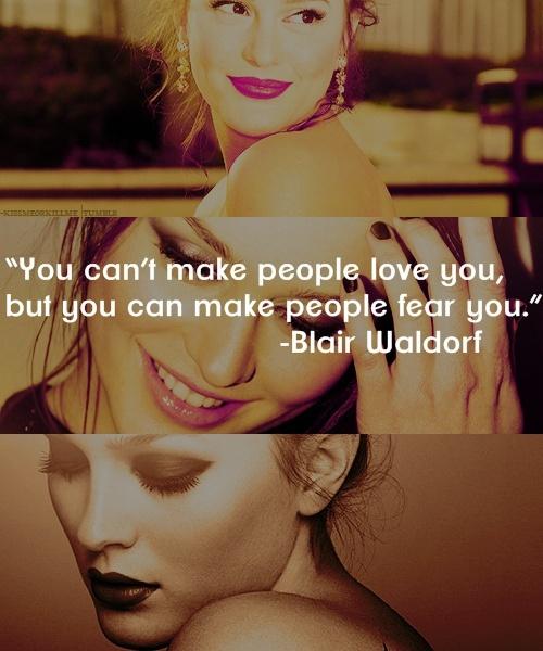 Blair Waldorf!! Love her!