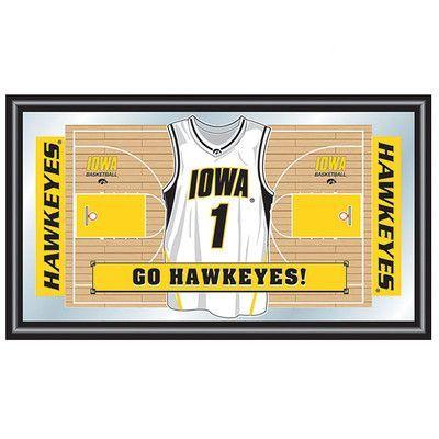 Trademark Global University of Iowa Basketball Framed Graphic Art