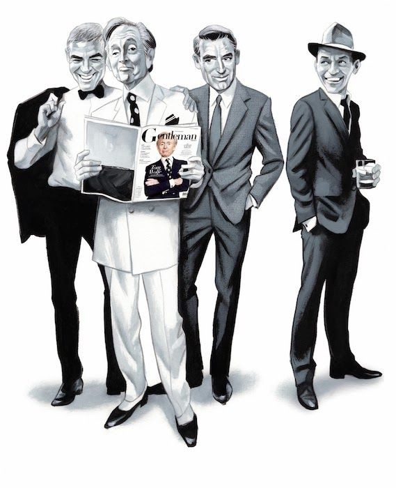Sinatra, Clooney, Grant & Wolfe