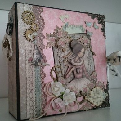 MINI ÁLBUM SCRAPBOOKING MIRABELLE