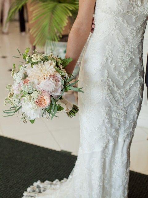 Claire Pettibone Chantilly Size 2 Wedding Dress – OnceWed.com