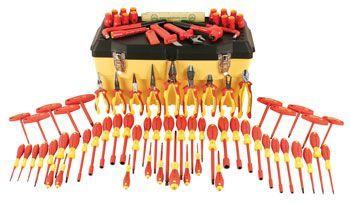 Wiha Insulated Professional Electrician Tool Set/32877