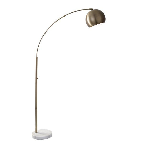 Dacia 78 Quot Arched Floor Lamp In 2019 Arc Floor Lamps