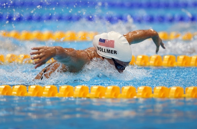Dana Vollmer wins Olympic swimming gold for Team USA, sets world record