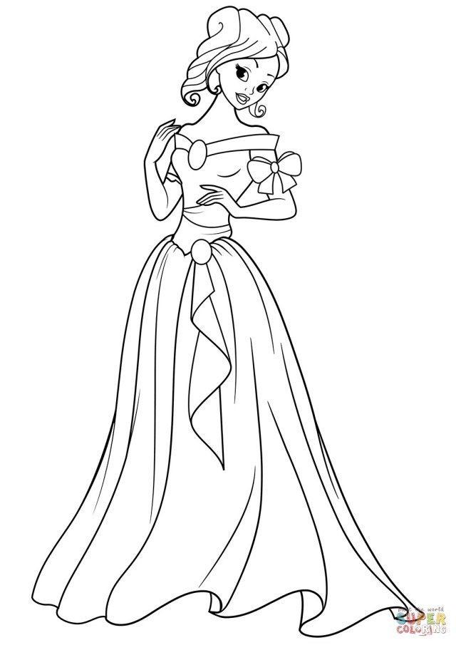 30 Great Picture Of Princess Coloring Page Albanysinsanity Com Princess Coloring Pages Princess Coloring Disney Princess Colors