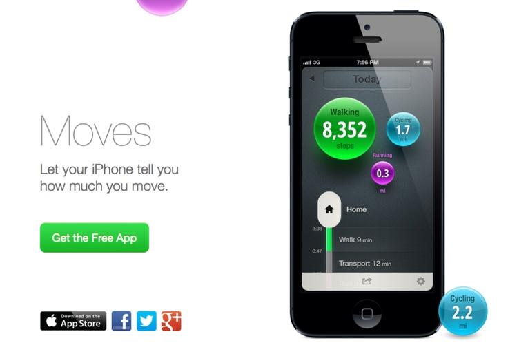 Una app para #iPhone que te hará caminar - Roluro.com