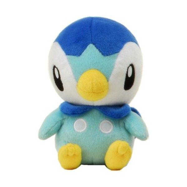 "Amazon.com: Pokemon Diamond & Pearl Plush Stuffed Toy - 7"" - Piplup:... ❤ liked on Polyvore featuring pokemon, stuffed animals, plush, plushies and stuff animals"