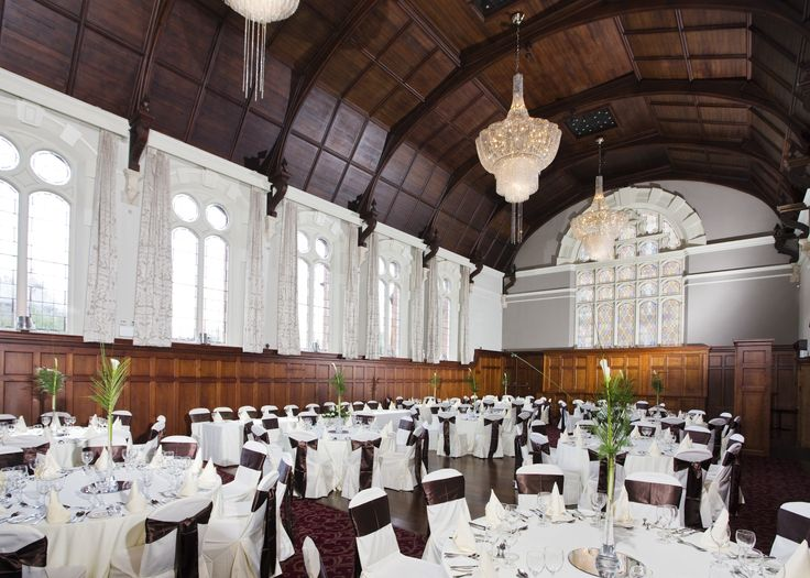 Thomas Prior Hall can host weddings of up to 180 guests.