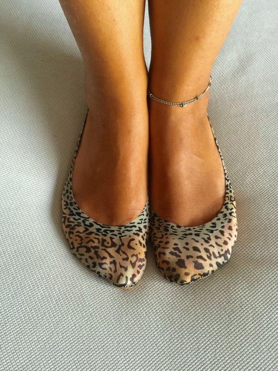 Socks Women's Socks Socks For Flats Leopard Socks by Muggyshop