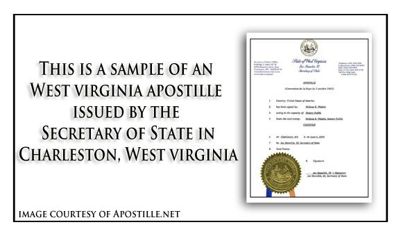 pin by apostille net on state of west virginia sample apostille ...