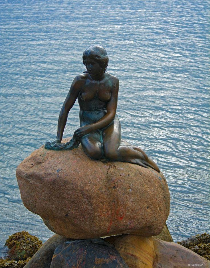 The Little Mermaid of Copenhagen