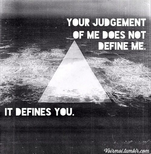 IT DEFINES YOU //