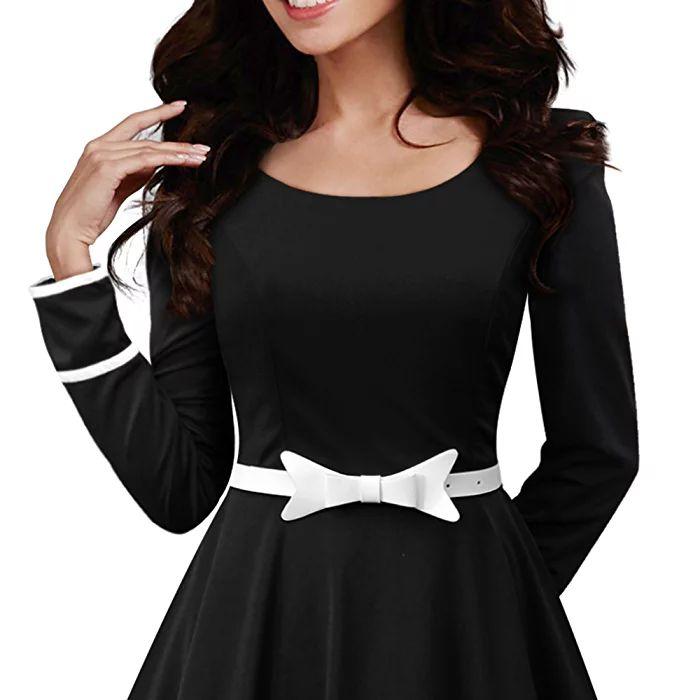 BlackButterfly 'Grace' Vintage Clarity Dress (Black, US 4)