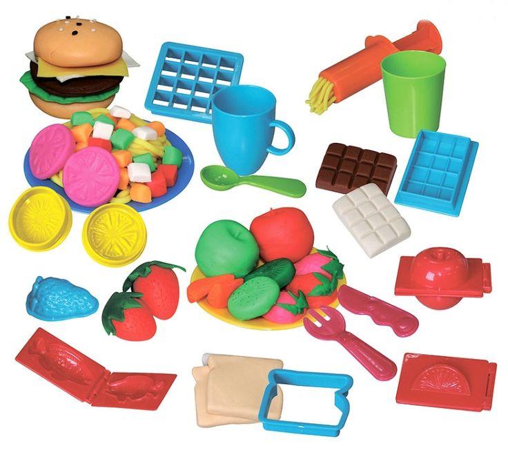 Картинки из пластилина продукты